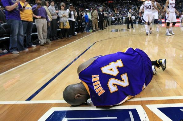 Kobe Injury