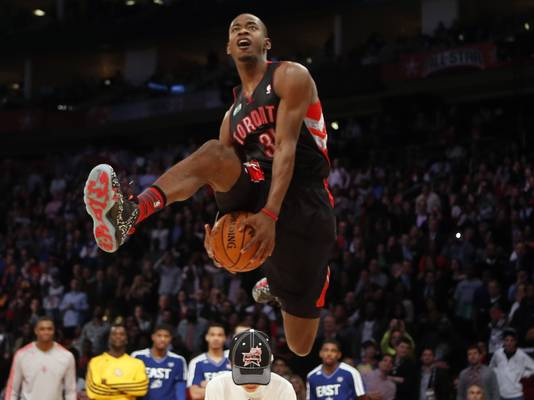 2012-13 Dunk Comp Champion - Terrence Ross