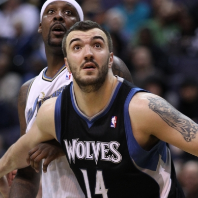 The Minnesota Timberwolves and restricted free agent big man Nikola