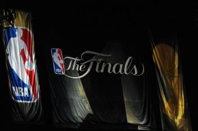 NBA finals banner